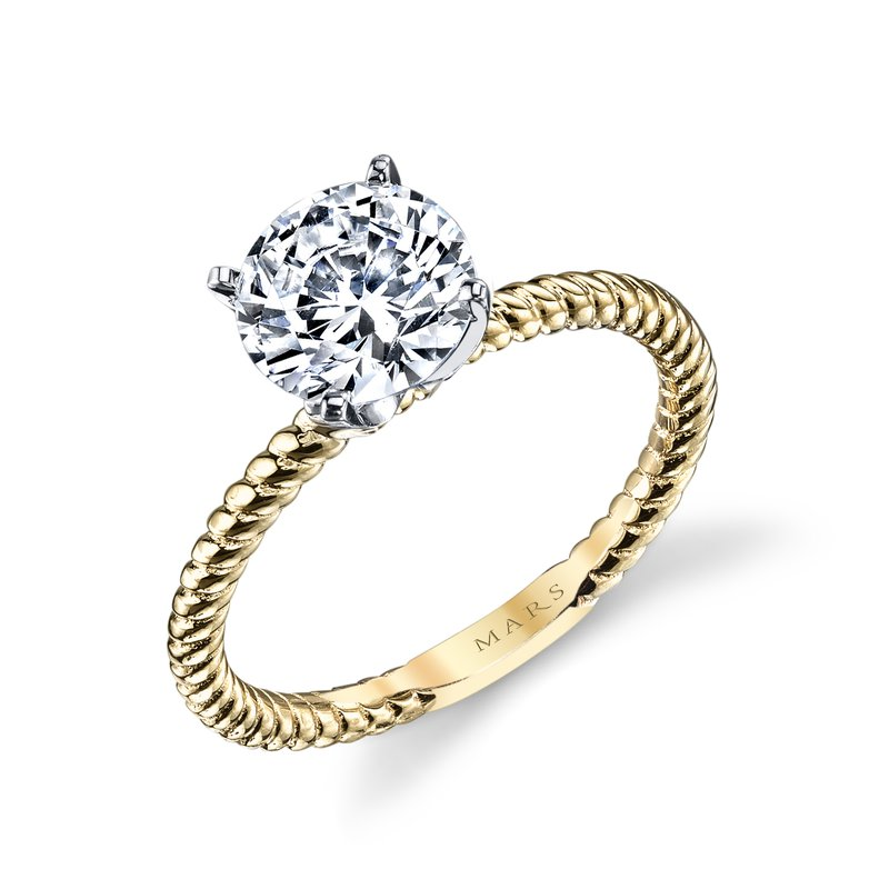 MARS Jewelry MARS 14793 Solitaire Engagement Ring
