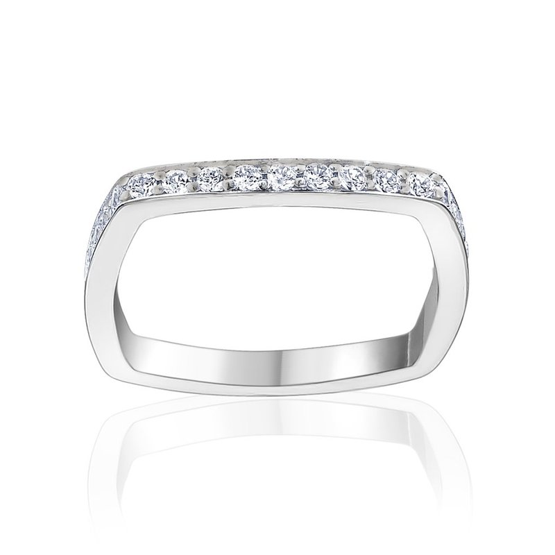 LARUS Jewelry Square Ring