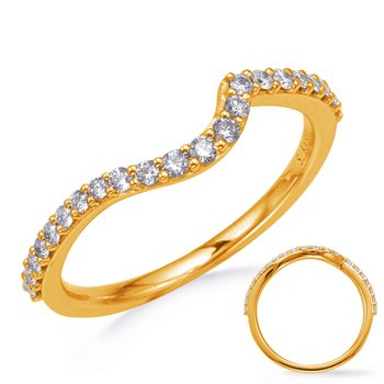 Yellow Gold Diamond Weddding Band
