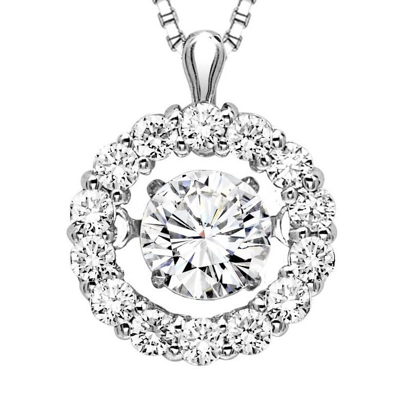Rhythm of Love 14K Diamond Rhythm Of Love Pendant 1/2 ctw