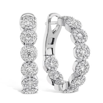 2.1 ctw. Fulfillment Hoop Earrings
