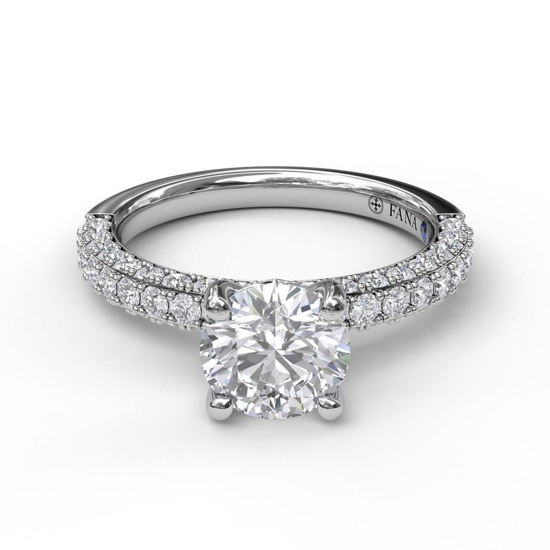 Fana Diamond-Encrusted Engagement Ring