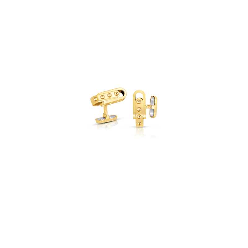 Roberto Coin 18Kt Gold Cufflinks