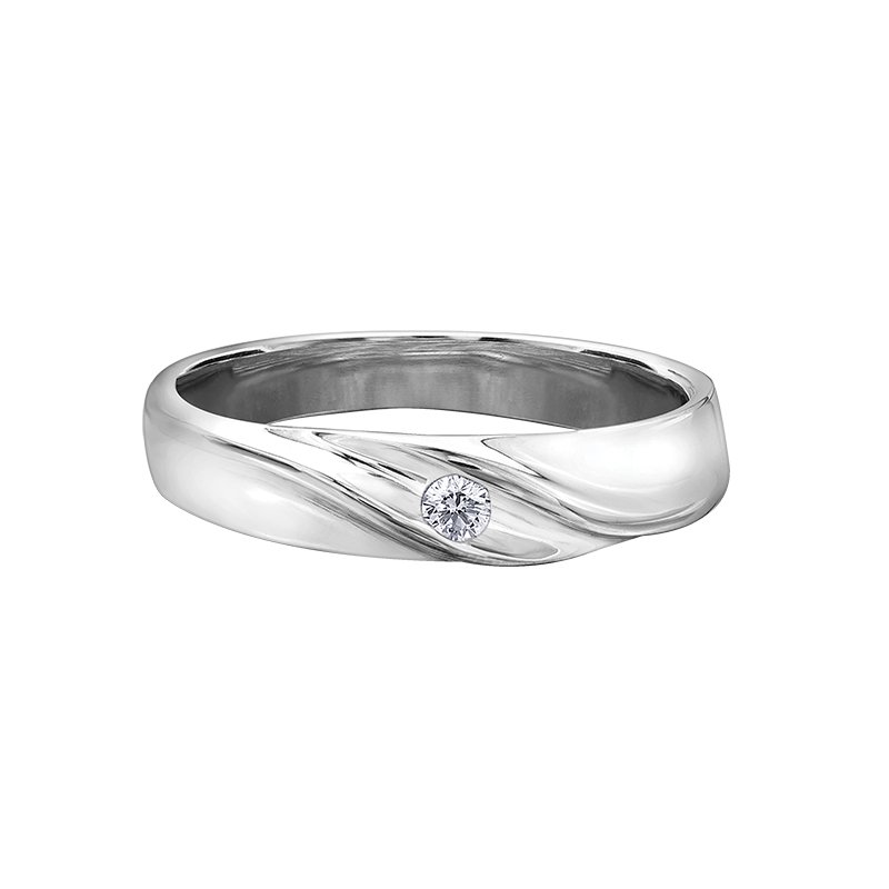 Maple Leaf Diamonds Maple Leaf Diamond Wedding Band