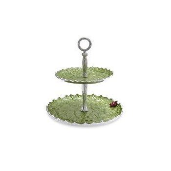 "Holly Sprig 11.5"" Two-Tiered Server Mojito"
