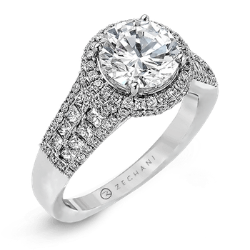 ZR973 ENGAGEMENT RING