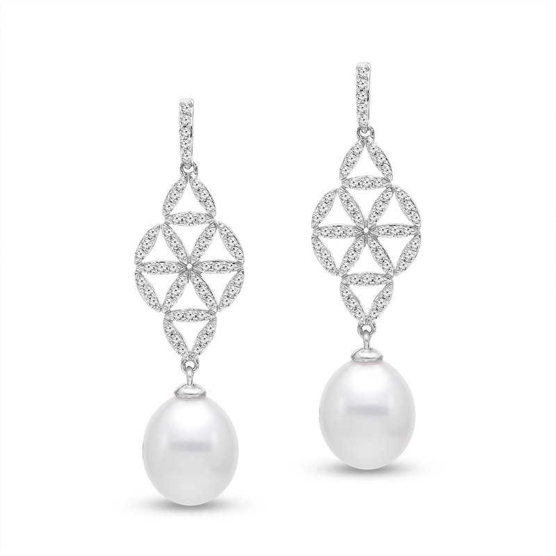 Mastoloni Pearls Marilyn Earrings