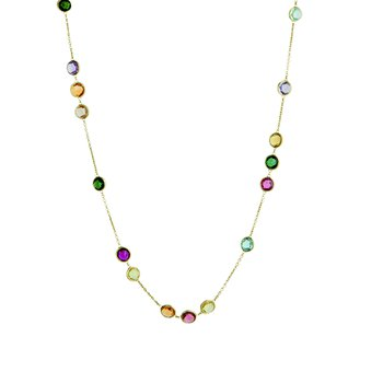 Jaipur Color Fashion Necklace