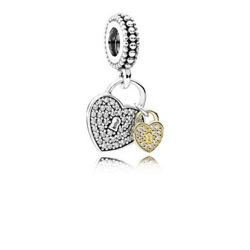 Love Locks, Clear Cz