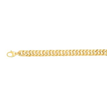14K Gold Miami Cuban Inspired Bracelet