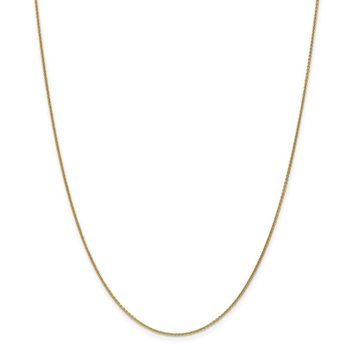 18K Leslie's 1.15mm D/C Cable Chain