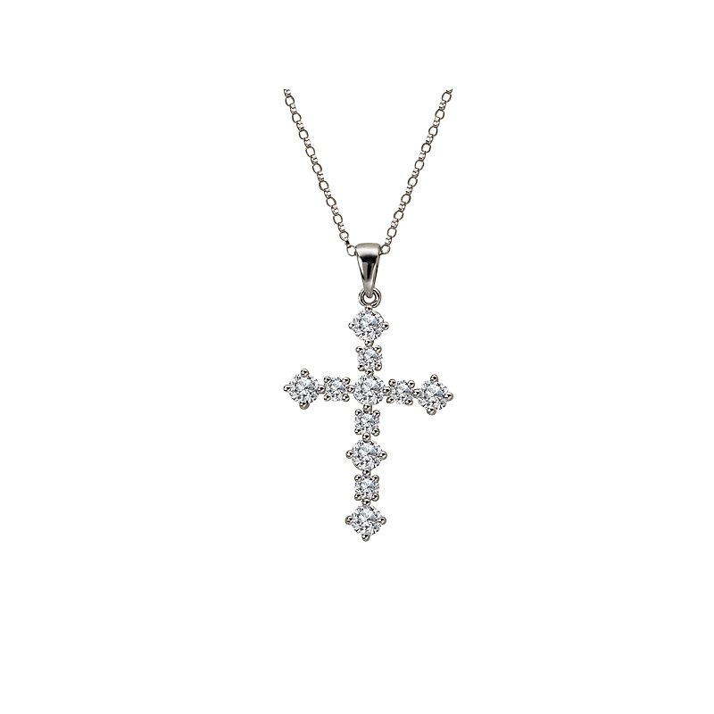 Tesoro Diamond Cross Pendant