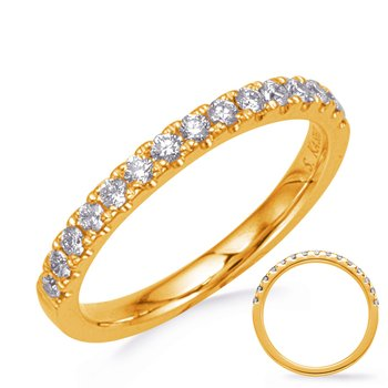 Yellw Gold Wedding Band