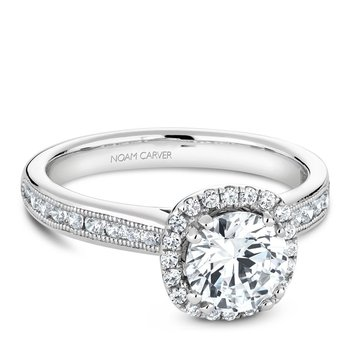 Noam Carver Vintage Engagement Ring B145-06A