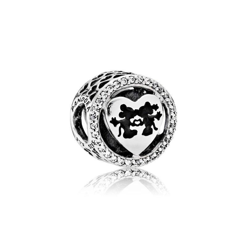 fd9bd7348 Lawrence Jewelers: PANDORA Disney, Mickey & Minnie Love, Clear CZ