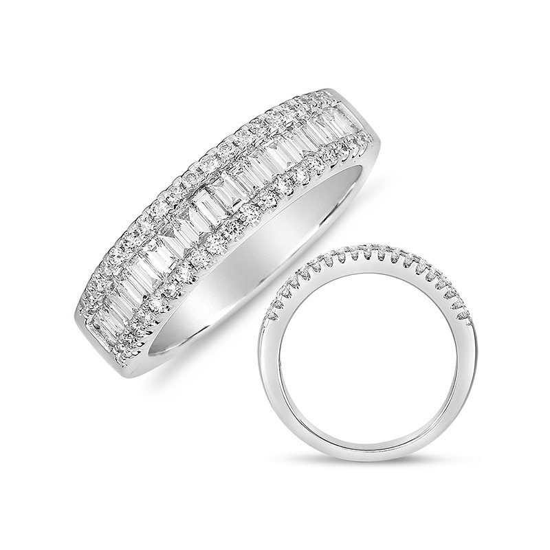 S. Kashi & Sons Bridal Platinum Wedding Band