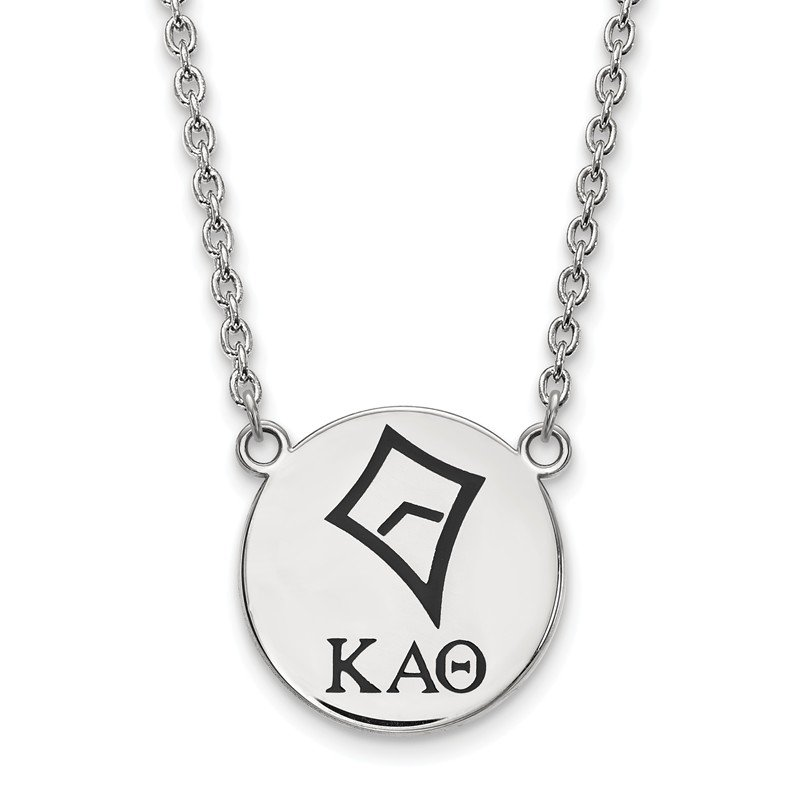 Greek Life Sterling Silver Kappa Alpha Theta Greek Life Necklace