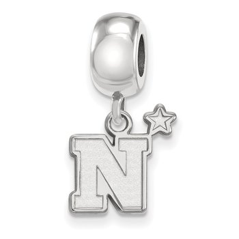 Sterling Silver United States Naval Academy NCAA Bead