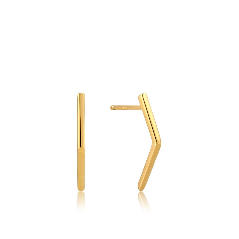 Ania Haie Bar Stud Earrings