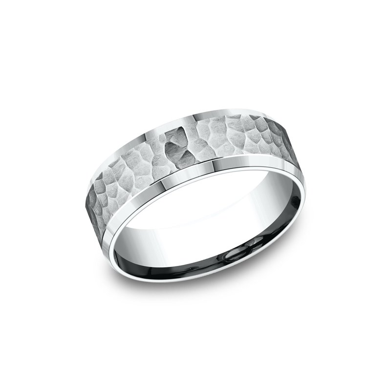 Benchmark Comfort-Fit Design Wedding Ring