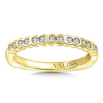 Stackable Wedding Band in 14K Yellow Gold (.19 ct. tw.)