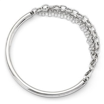 Leslie's Sterling Silver Fancy Bracelet