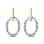 1/10 Ct Diamond Fashion Earrings