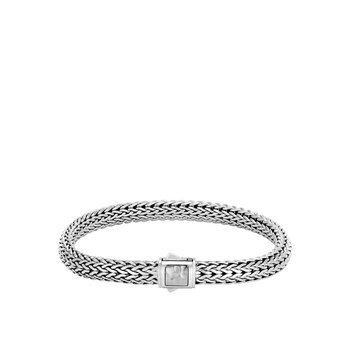 Classic Chain Hammered Bracelet