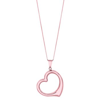 14K Gold Heart Necklace