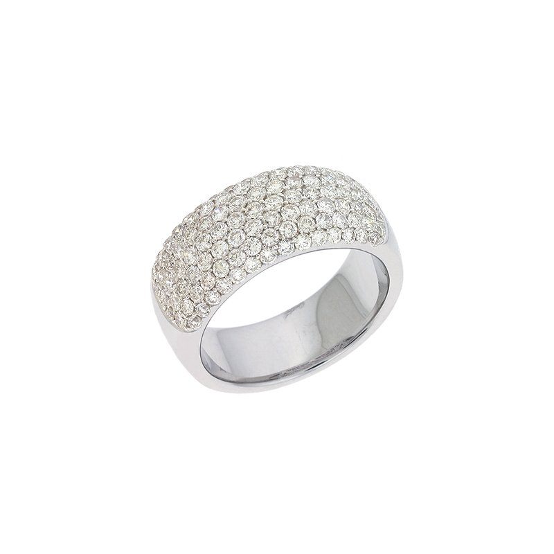 S. Kashi  & Sons Platinum Diamond Pave