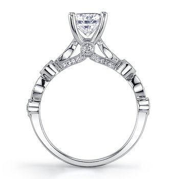 MARS 25915 Diamond Engagement Ring, 0.32 Ctw