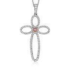Simon G MP2070 CROSS PENDANT