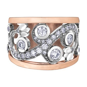 Maple Leaf Diamonds™ Summer Enchanted Garden Ring