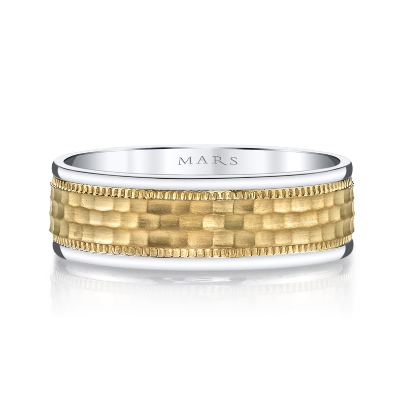 MARS Jewelry MARS G132 Men's Wedding Band