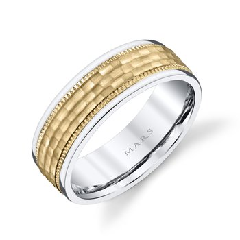 MARS Jewelry - Wedding Band G132