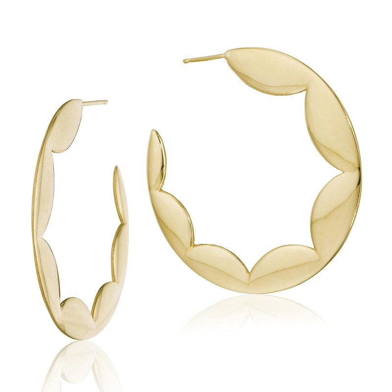 Tacori Fashion Crescent Hoops