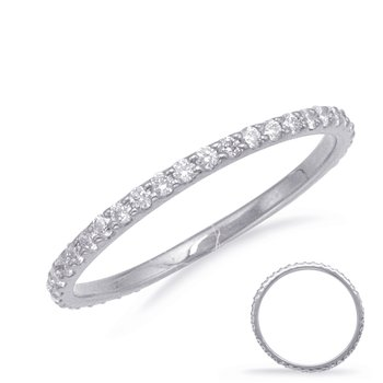 Palladium Eternity Band