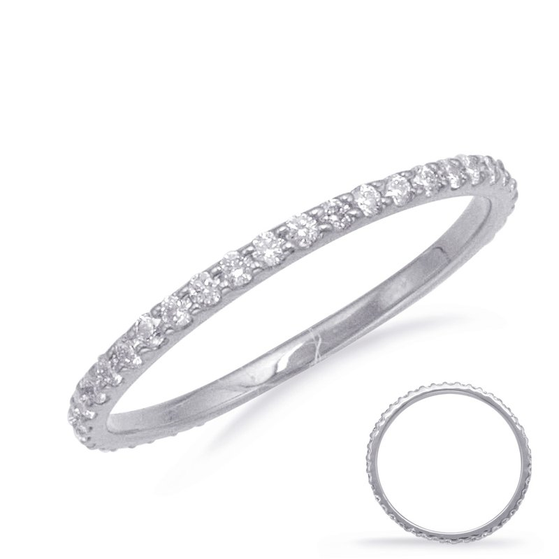 S. Kashi & Sons Bridal Palladium Eternity Band
