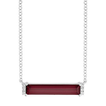 Ruby Necklace-CPN0024WRU