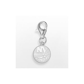 Sterling Silver New York Islanders NHL Necklace
