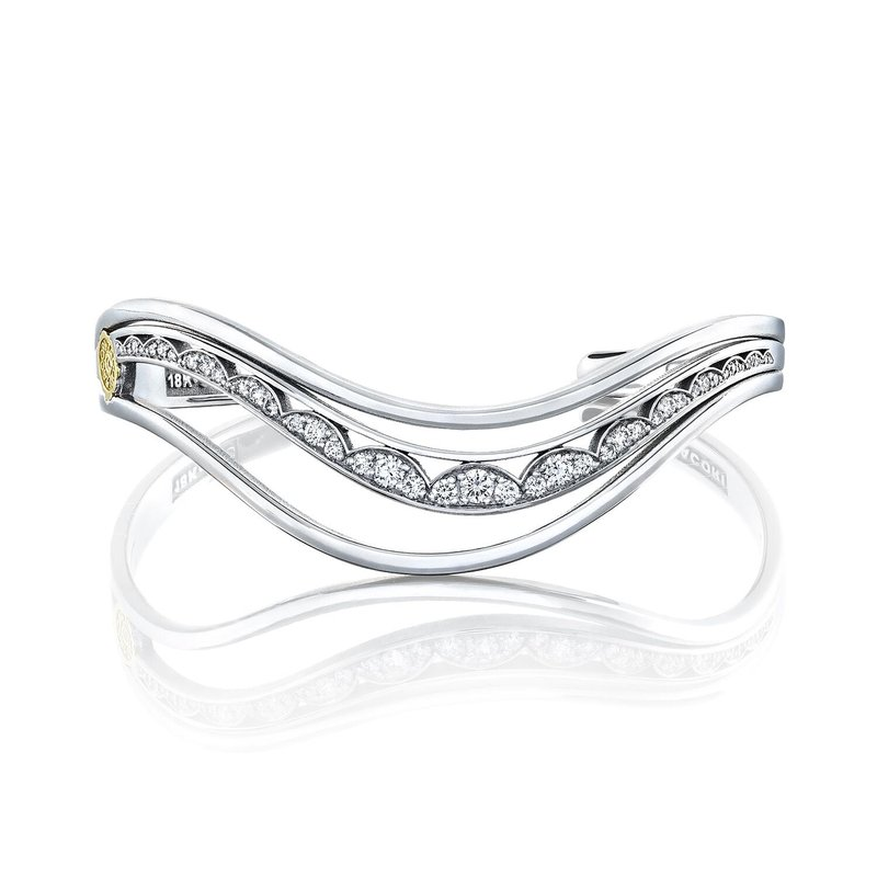 Tacori Fashion Triple Wave Cuff Bracelet
