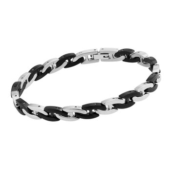 Black and white 316L stainless steel