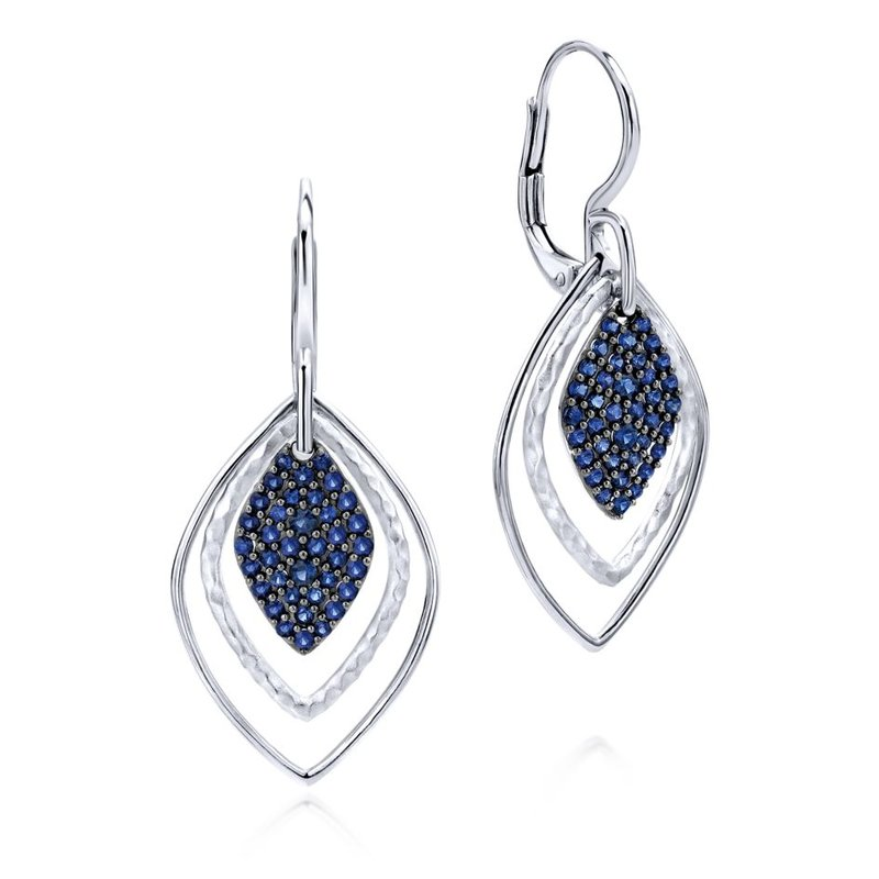 Gabriel Fashion Silver Fashion Earring