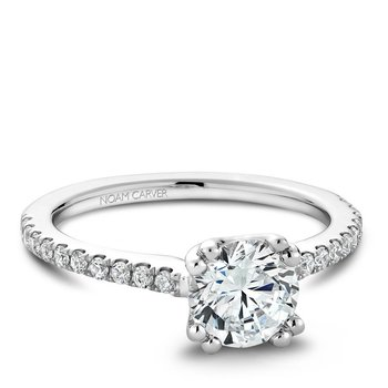Noam Carver Modern Engagement Ring B001-01A