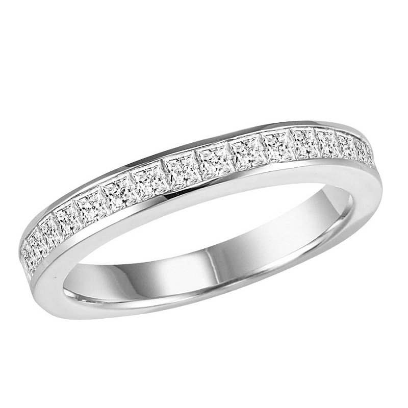 Bridal Bells 14K Diamond Matching Band 1 ctw