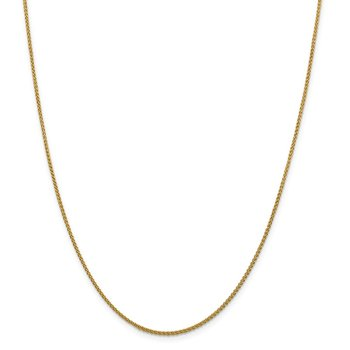 Leslie's 14K 1.5mm Spiga (Wheat) Anklet