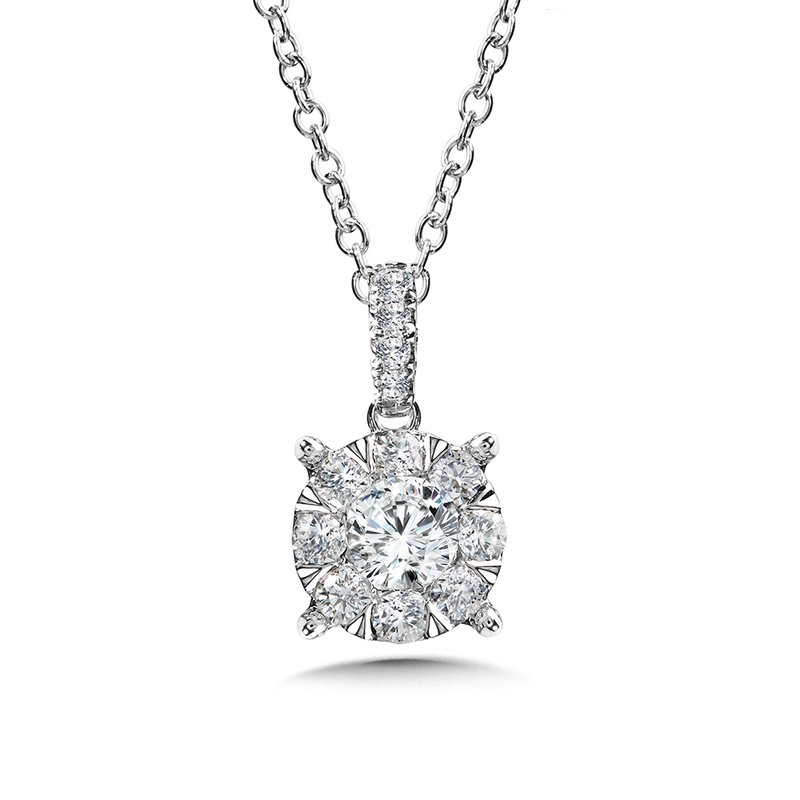 SDC Creations Mirage Cluster Diamond Pendant