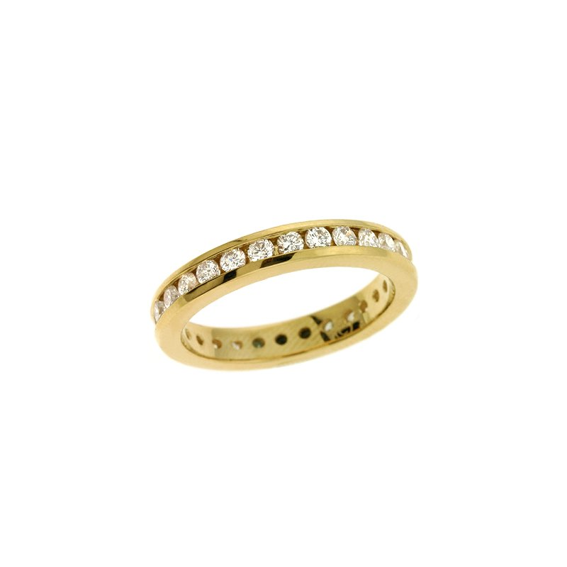 S. Kashi & Sons Bridal Eternity Channel Band