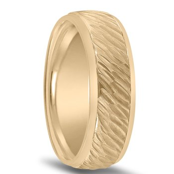 Men's Hammered Colors Collection Wedding Band - N16583