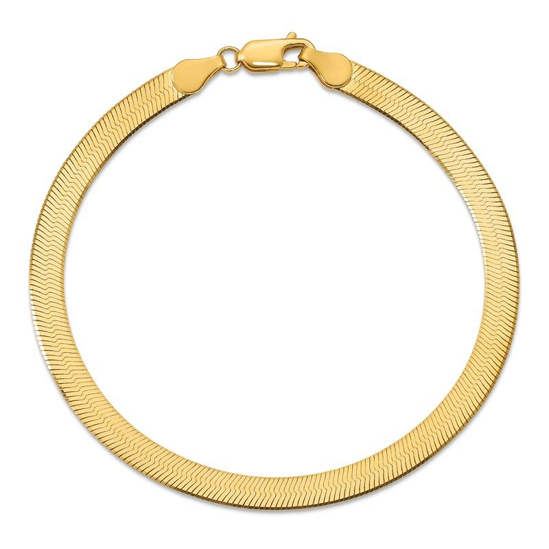 Quality Gold 14k 5mm Silky Herringbone Chain